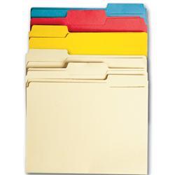 colored file folders