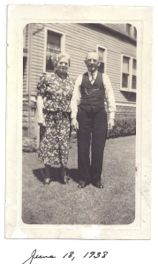 G'Ma & G'Pa Schuma 1938