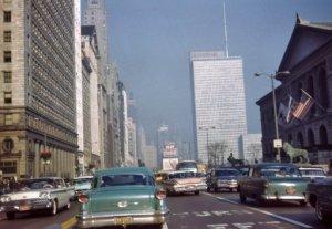 Michigan Avenue 1962