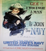 OLD NAVY RECRUITING POSTER
