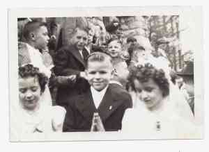 JIMMY'S FIRST COMMUNION