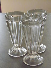 milk shake glasses ebay