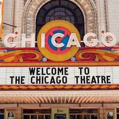 chicago theater welcome