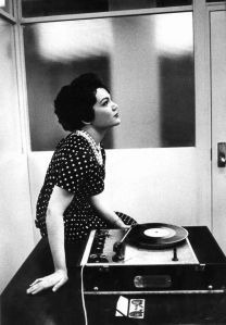 booth for listening with connie francis