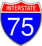 number interstate 75