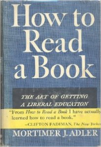 how to read a book by mortimer adler old