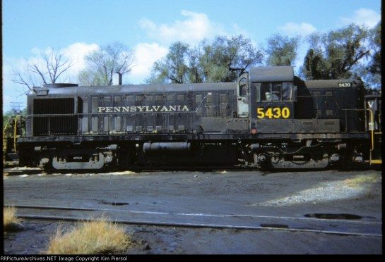 Pennsylvania RR diesel by RRPictureArchives Net Kim Piersol