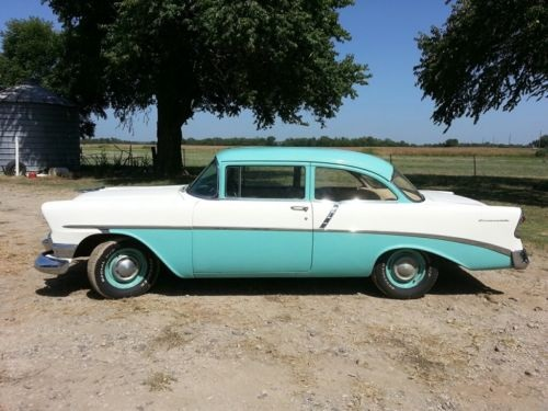 1956-Chevy-210-ORIGINAL-SURVIVOR-TRUE-BARN-FIND
