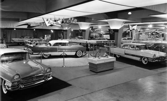 packard 1955 auto show