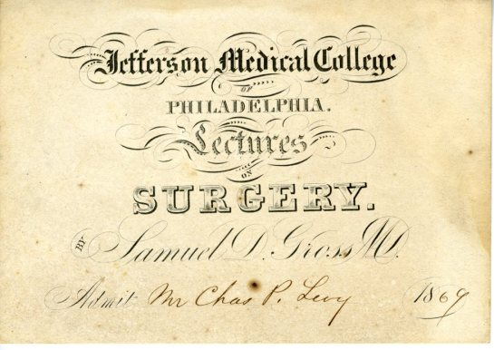 Jefferson medical college diploma