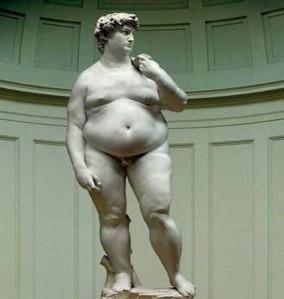Michelangelo David-Fat