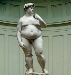 Michelangelo David-Fat