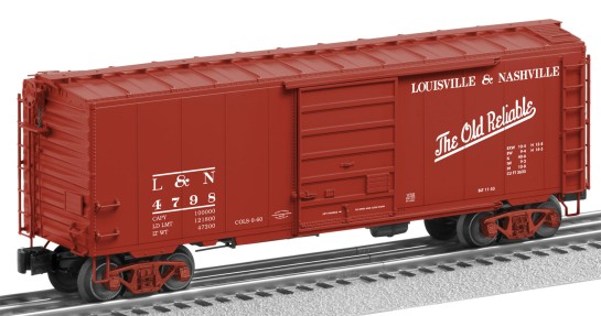 boxcar detailed image