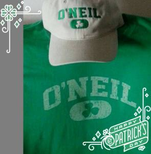 ONEIL ST PATRICKS DAY