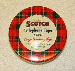 scotch tape can